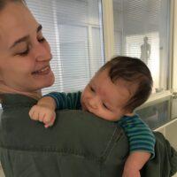 Kvinde gravid ved akupunktur fertilitet Vickie Budden